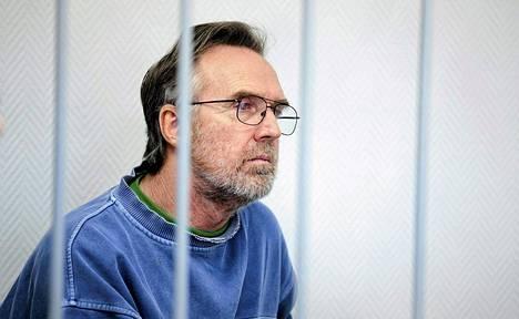 Colin Russell oikeudessa Murmanskissa lokakuussa.