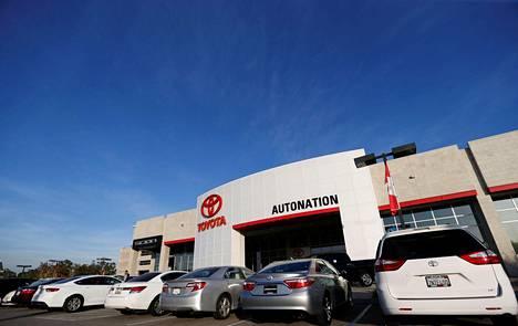 Yhdysvaltalaisen autokauppaketju Autonationin tulos lähes kolminkertaistui tammi–maaliskuussa.