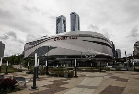 Edmonton Oilersin kotiareena Rogers Place on ehdolla yhdeksi lopputurnauksen näyttämöksi.