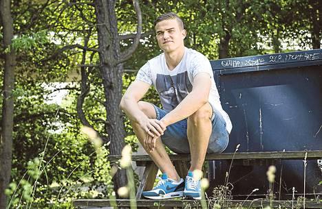 Eero Markkanen siirtyy Ruotsin AIK:sta mahtiseura Real Madridin organisaatioon. Kuva on otettu heinäkuun alussa Tukholmassa.