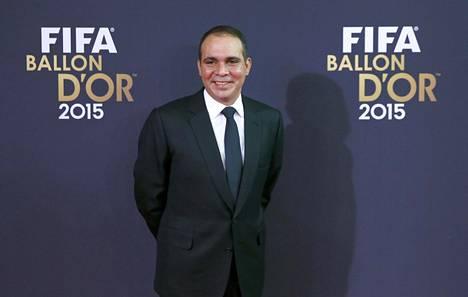 Jordanian prinssi Ali bin al Hussein on ehdolla Fifan puheenjohtajaksi.