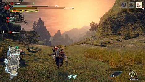Monster Hunter Rise muodostuu monista erillisistä maailmoista eli kentistä, joita saa tutkia vapaasti. Liikkui sitten missä päin hyvänsä, ulkoasu on aina vähintäänkin fantastinen.