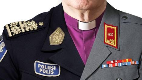 Suomalaiset luottavat kyselyn mukaan vahvasti poliisiin, Puolustusvoimiin ja kirkkoon.