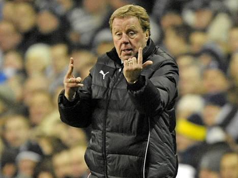 Harry Redknapp on virittänyt Tottenhamin huimaan vireeseen.