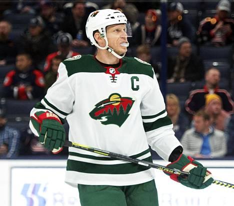 Mikko Koivu pelasi Minnesota Wildissa 15 kautta ennen siirtymistään Columbus Blue Jacketsiin.