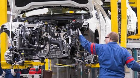 Mercedes-Benzin GLC-malli valmistui Uudenkaupungin autotehtaalla vuoden 2017 helmikuussa.