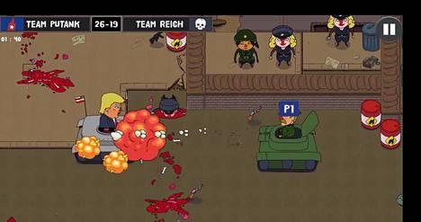 Tältä näyttää World War Party: Game of Trump -peli, joka tuttavallisesti lyhentyy kirjainyhdistelmään GoT. Sattumaako? Ei todellakaan.