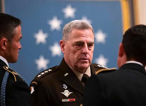 Asevoimien komentaja Mark Milley kuvattuna Washingtonissa 11. syyskuuta 2020.