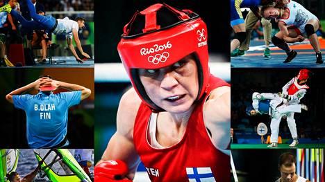 Rion olympialaisissa mitalitoiveet kariutuivat yksi toisensa jälkeen. Ainoan mitalin, pronssia, toi nyrkkeilijä Mira Potkonen.