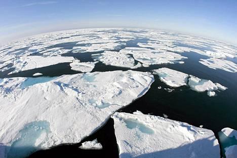 Jäälauttoja Baffinin lahdella.