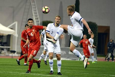 Suomi kohtasi Makedonian Turkissa 23. maaliskuuta. Ottelu päättyi 0–0.