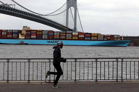 New Yorkin satama 2. helmikuuta.