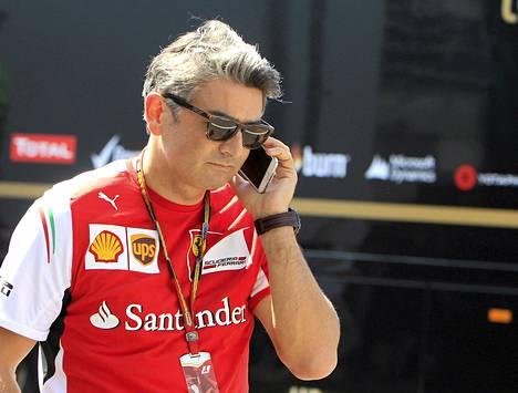 Ferrarin Marco Mattiacci pitää kolmansia autoja vaihtoehtona runkojen myymiselle pikkutalleille.