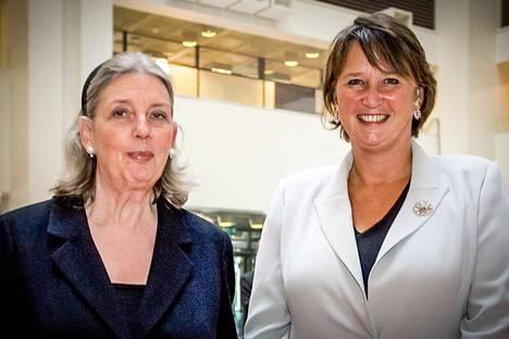 Jane Erkko ja Rafaela Seppälä valtasivat naisten tulolistan kärjen vuonna 2013.