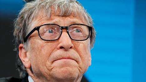 Bill Gates kuvattuna vuonna 2019