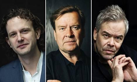 Nicholas Collon, Magnus Lindberg ja Hannu Lintu.