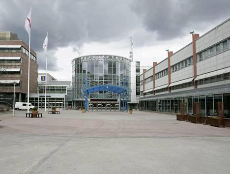 Helsingin Messukeskuksen katolta saisi aurinkoenergiaa 240 omakotitalon tarpeisiin.