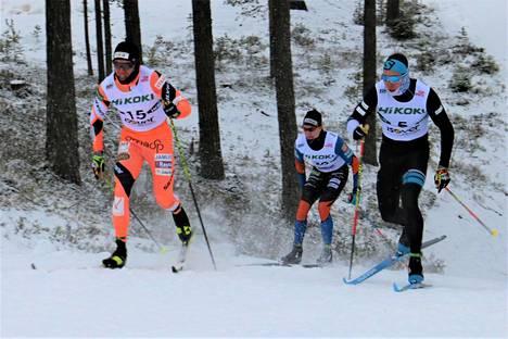 Hiihdon Suomen cupissa kisattiin kuluneena talvena muun muassa Taivalkoskella.