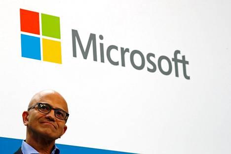 Microsoftin toimitusjohtaja Satya Nadella.