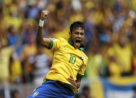 Neymar on Brasilian jalkapallotuotannon arvokkain jalokivi.