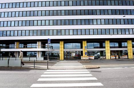 EK:n toimitalo Helsingin Etelärannassa.