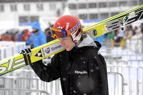 Janne Happonen oli Innsbruckin mäkikarsinnassa 29:s.