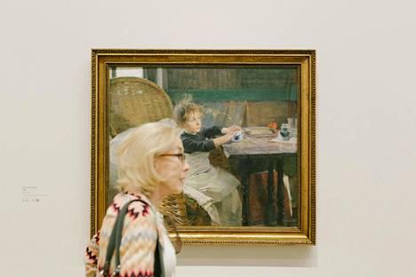 Helene Schjerfbeckin näyttely on avattu Lontoon Kuninkaalliseen taideakatemiaan (Royal Academy of the Arts).