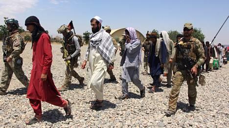 Toukokuussa Afganistanin erikoisjoukot pelastivat Talebanin vankilasta yhteensä 62 panttivankia.
