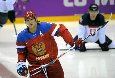 Aleksandr Ovetškin pelasi Venäjän joukkueessa myös Sotšin olympiakisoissa.