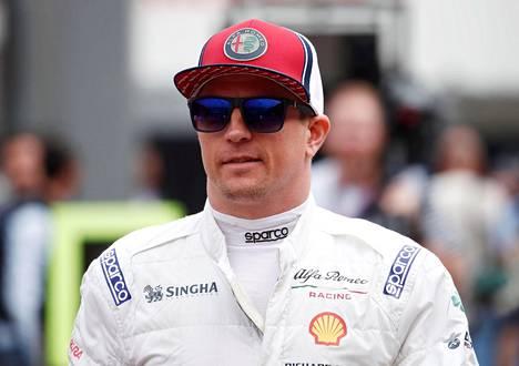 Kimi Räikkönen on ajanut neljästi pisteille kauden viidessä kilpailussa.