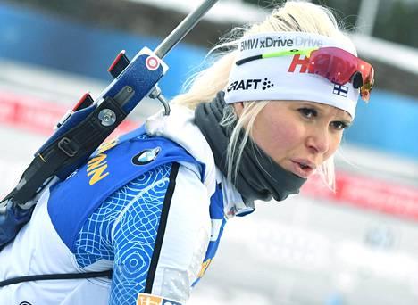 Mari Eder on kiertänyt pitkään maailmancupia, ja ura jatkuu.