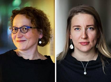 Anu Koivunen ja Johanna Vuorelma.