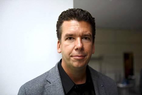 Säveltäjä Sebastian Fagerlund kuvattuna elokuussa 2017.