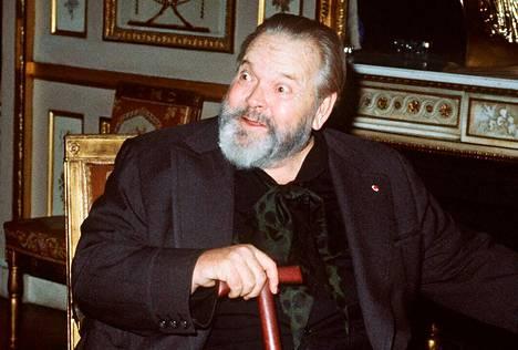 Orson Welles Pariisissa vuonna 1982.