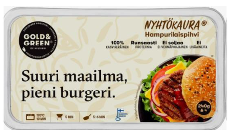 Gold & Green Foods Oy on havainnut listeriaa muun muassa nyhtökaurapihveissä.
