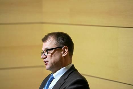 Keskustan puheenjohtaja Juha Sipilä