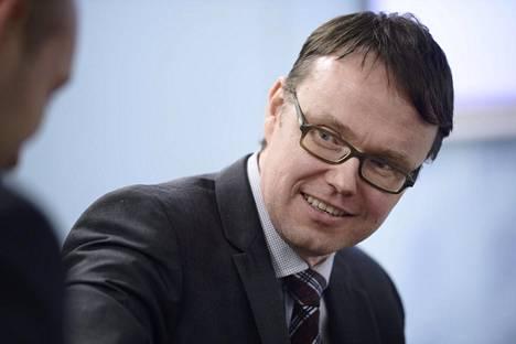 Valtiovarainministeriön finanssineuvos Sami Yläoutinen.