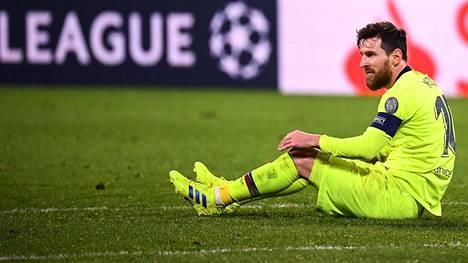 Lionel Messikään ei onnistunut maalinteossa tiistai-iltana.