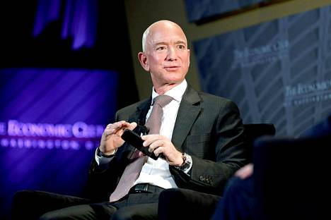 Jeff Bezos syyskuussa 2018.