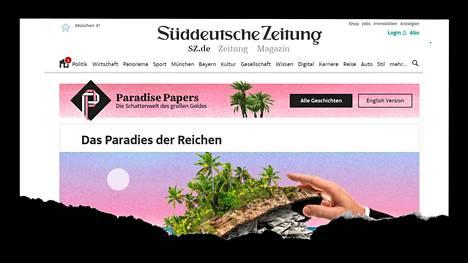 Paratiisin papereiksi kutsutaan saksalaiselle Süddeutsche Zeitung -lehdelle vuodettuja tietoja veroparatiisiyhtiöistä.
