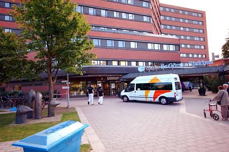 Ruotsissa terveydenhuolto on maakuntien vastuulla. Kuvassa Sankt Göranin sairaala Tukholman Kungsholmenilla vuonna 2013.