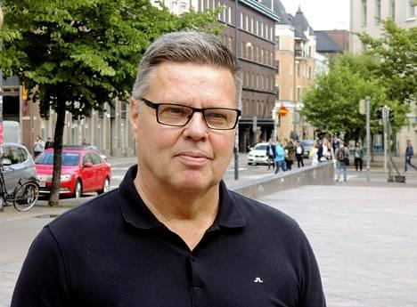 Helsingin huumepoliisin entinen päällikkö Jari Aarnio kuvattuna 19. kesäkuuta 2018.