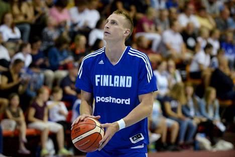 Alex Murphy pelasi viime viikonloppuna ensimmäisen aikuisten maaottelunsa Latviaa vastaan.