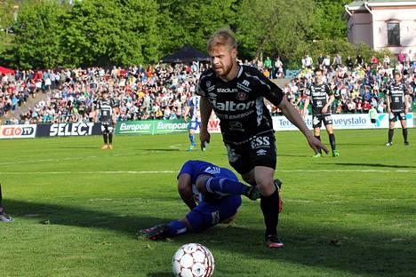 FC Lahti pelaa Veikkausliigan kotiottelut Kisapuistossa. Kuva on vuodelta 2016.