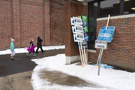 Pete Buttigiegin kannatus on noussut New Hampshiren esivaalien alla.