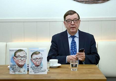 Paavo Väyrynen piti perustamansa Kansalaispuolueen tiedotustilaisuuden tammikuussa. Kuntavaaleihin hän lähtee kuitenkin Terve Helsinki -nimisen ryhmän edustajana kristillisdemokraattien listalta.