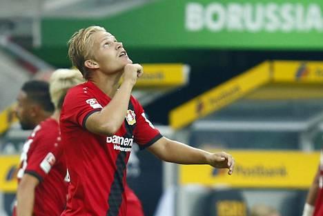 Joel Pohjanpalo oli toisen sarjakierroksen nimi Saksan Bundesliigassa.