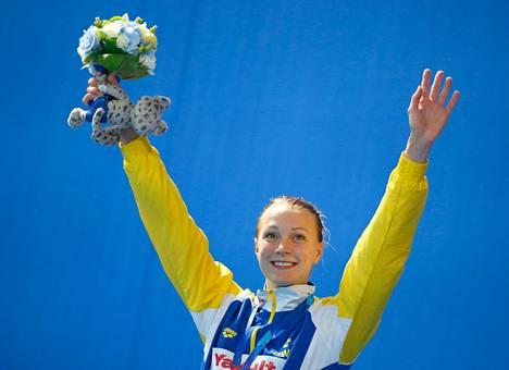 Sarah Sjöströmillä oli ennestään jo kaksi pitkän altaan MM-kultaa, joista ensimmäinen tuli 15-vuotiaana.