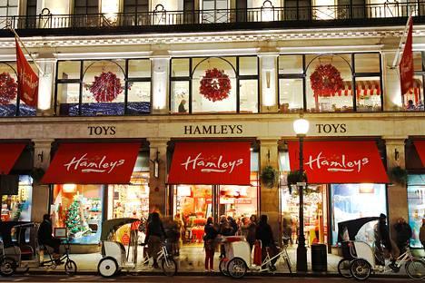 Hamleysin lelukauppa Lontoossa joulukuussa 2011.