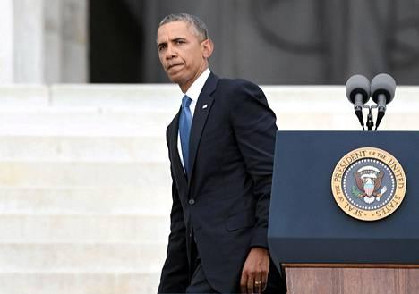 Yhdysvallat haluaisi presidentti Barack Obaman johdolla pysyä poissa Syyriasta. Silti Yhdysvallat kokee, että se ei voi perääntyä.